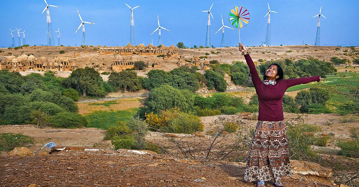 Renewable Energy Massive Simulated Project will turn the Sahara into a Green Land.