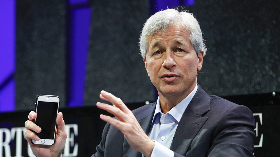 Jamie Dimon the best-paid bank CEO