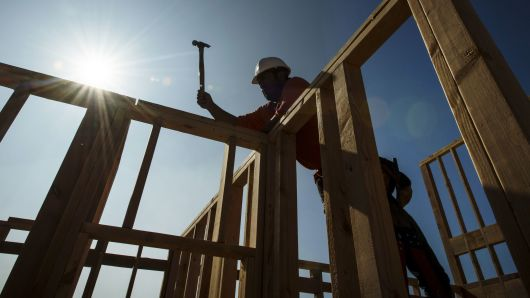Homebuilders are not getting a bump from lower mortgage rates