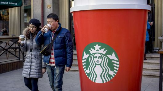 Starbucks CEO: 'We are playing the long game in China'