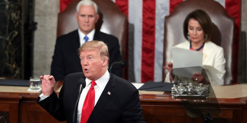 Trump's combative State of the Union 'left traders empty-handed' — markets are mixed as investors await GM earnings, Fed