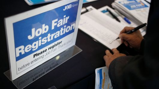 US weekly jobless claims fall less than expected