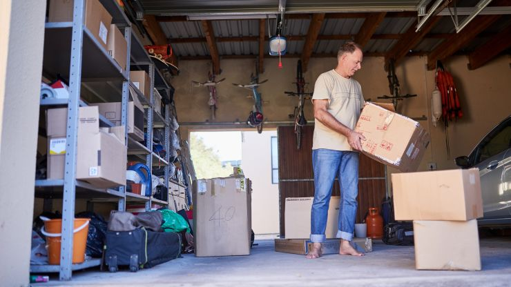 Neighbor is out to disrupt self-storage: It's like Airbnb for your stuff