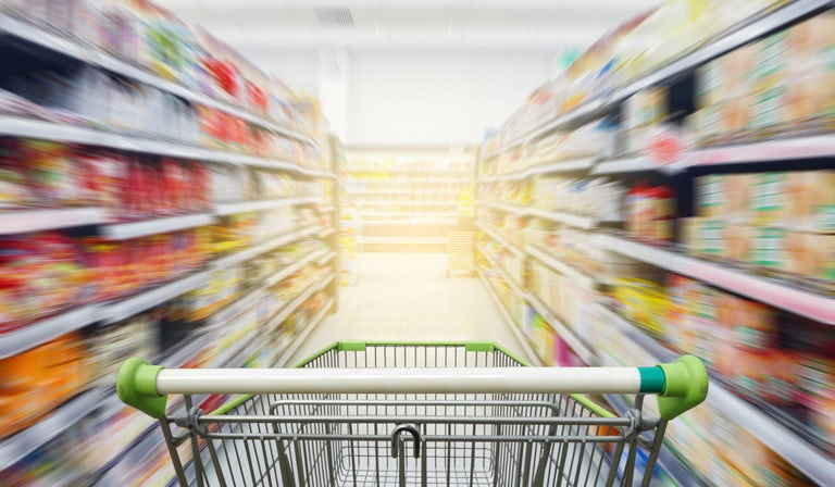 'We are a long way from returning to normal': UK grocery growth hits record high